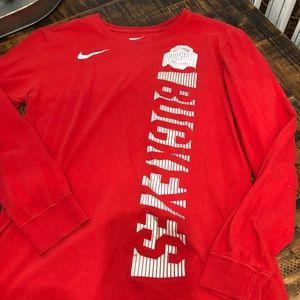 Men's Nike Ohio state long sleeve tee
